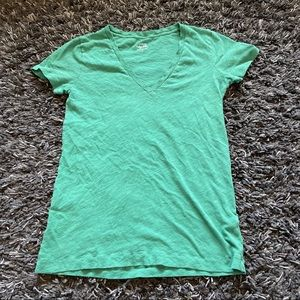 J. Crew vintage cotton v-neck tee